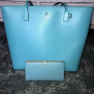 Kate spade wallet and purse.